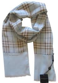 light blue burberry scarf burberry light blue new check wool scarf wrap tradesy