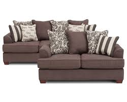 Living Room With Brown Leather Sofa by Living Room Sets Sofa Sets Furniture Row