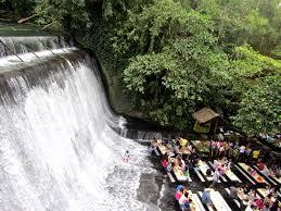 waterfall restaurant in the philippines julia world