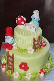 smurf cake yummy mummy