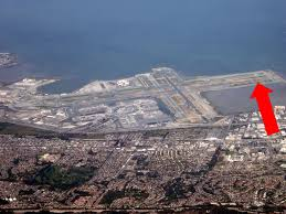 San Francisco Airport Map by How Do You Land At San Francisco International Airport The