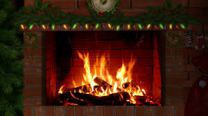 fireplace with christmas music 3 hours youtube