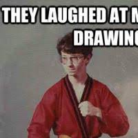 Karate Meme - kyle drawing