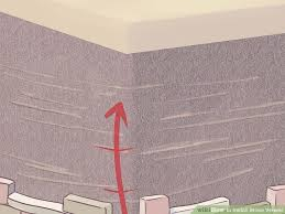 How To Install Thin Brick On Interior Walls How To Install Stone Veneer With Pictures Wikihow
