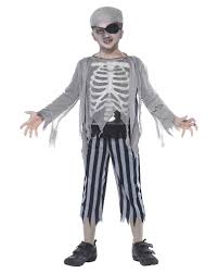 Ghost Pirate Costume For Boys Zombie Pirate Costume Horror