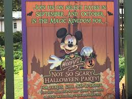 mickey s not so scary halloween party halloween 2017 at walt