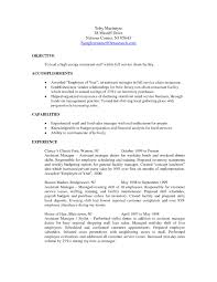 Restaurant Manager Resume Example Resume Template Sample Ministry Student And Internship Examples