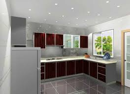 Aluminum Kitchen Cabinet Cool Aluminum Kitchen Cabinets With Wooden Styles Doors Modern