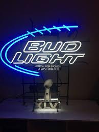 bud light neon light bud light neon att ny giants fans bud light super bowl neon xlvi