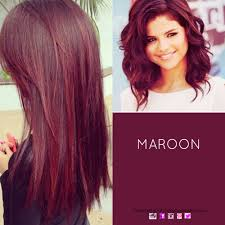 hair colour maroon haircolour redhair wanna try this color
