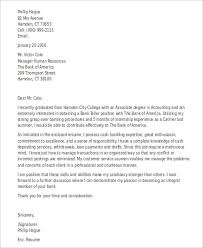 banking cover letter 10 free word pdf format download free