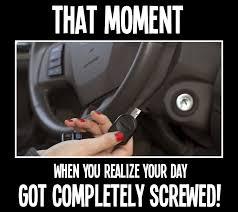 Broken Car Meme - has a broken key ever left you stranded green locksmith