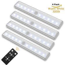 wireless led under cabinet lighting szokled remote control led lights bar wireless portable led under