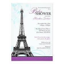 parisian baby shower personalized baby shower invitations custominvitations4u