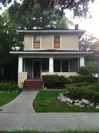 american foursquare style a small with off center entrance idolza