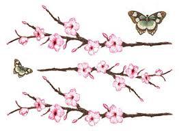 cherry blossom butterflies small tattooforaweek temporary