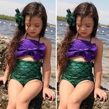 Ariel Halloween Costume Kids Aliexpress Buy Mermaid Tail Ariel Princess Costume