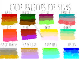 cancer colors zodiac color palettes for zodiac signs by redhotchillipeppers on deviantart