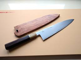 Good Kitchen Knives by Sakai Jikko Akebono Blue 2 By Kenichi Shiraki