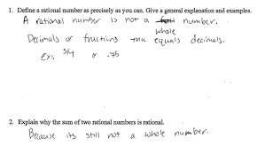 sum of rational numbers students are asked to define a rational