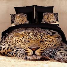 Cheetah Print Bedroom Set by 15 Kinds Of Styles 3d Lion Print Bedding Sets Tiger Print Bed