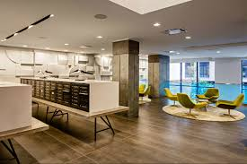 Kitchen Design Nyc Residential Complex In Hell U0027s Kitchen Offers A Tranquil Escape