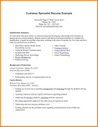 resume summary of qualification exles 12 summary of qualification resume foot volley mania