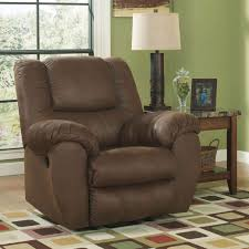 Chair And A Half Recliner Ashley Quarterback Rocker Recliner Chairs U0026 Recliners Home