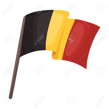 Belgian Flag The Belgian Flag The Dark Belgian Wolf Belgium Single Icon In