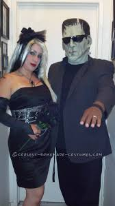 Frankenstein Monster High Halloween Costumes by Coolest Homemade Frankenstein And Bride Costumes