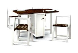 Folding Table With Chair Storage Ikea Folding Dining Table Popolappen Info