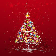 free colorful christmas tree backgrounds for powerpoint