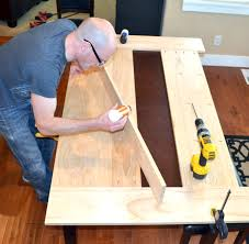 how to cover a table easy diy planked table top cover for your existing table rachel