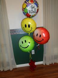 hospital balloon delivery get well soon get well soon balloons with candy great for that