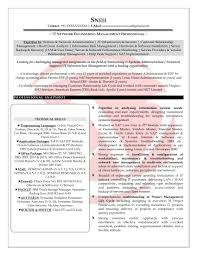Resume Sample Help Desk Support by Sample Resume Software Engineer 2 Years Experience