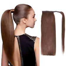ponytail hair extensions ponytail hair extensions bhf 22 chocolate brown 4 100g