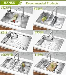 Ketb Stainless Steel Triple Sink  Compartment Kitchen Sink - Triple sink kitchen