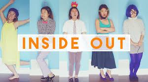 easy inside out diy halloween costumes youtube