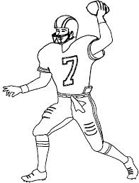Football Coloring Pages Joomla Football Coloring Page
