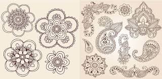 easy to do mehendi designs for