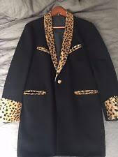 Teddy Boy Drape Teddy Boy Jacket Leopard Ebay