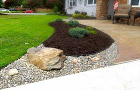 Garden Patio Design by Stone Nice Custom River Garden Beds Ideas Best Patio Design Nice