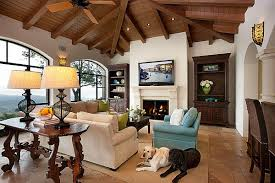 Decorating With A Spanish Influence - Spanish living room design