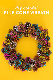 pinecone wreath a jolly christmas with our christmas wreath diy ideas
