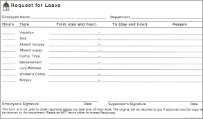 Exle Letter Request Annual Leave template human resources excel template free annual leave