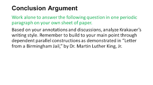 martin luther king jr writing paper into the wild chapters ppt download 9 conclusion