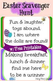 easter scavenger hunt easter scavenger hunt free printables busy mom s helper