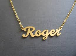 baby name necklace gold personalized gold name necklace custom name necklace baby