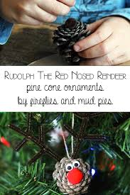 diy rudolph the nosed reindeer ornaments reindeer ornaments