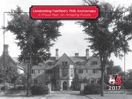 75th anniversary 2017 university calendar by fairfield university